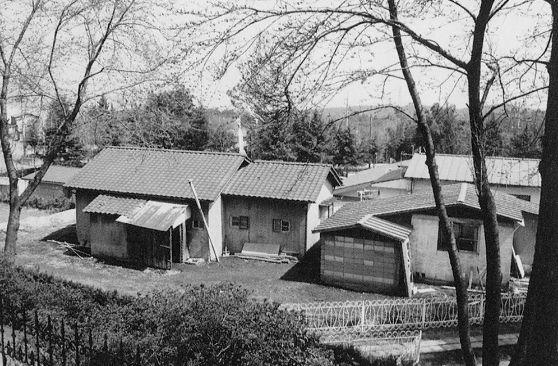 設立当時の建物全体