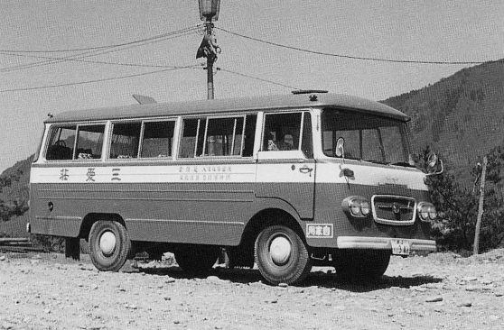 初代の送迎バス